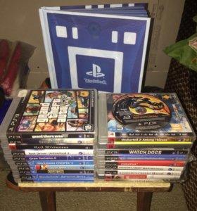 PlayStation 3 богатый комплект.