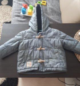 Куртка детская next 6-9 мес