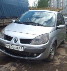 Renault Scenic 1.5 MT,2008 минивэн. Торг.