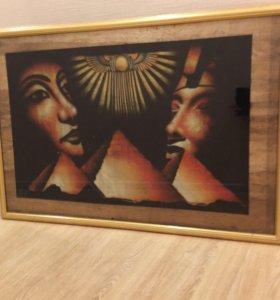Картина с рамкой