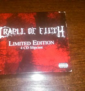 Cradle of Filth(Limited edition)Box set