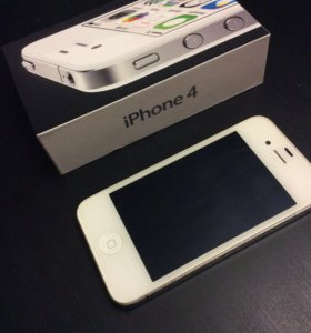 iPhone 4,White, 8Gb