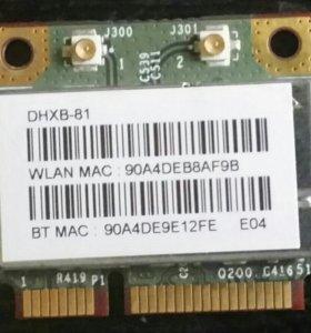 Модуль wi-fi ,802.11 b/g/n. WLAN Bluetooth PSIe