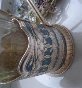 стакан в подстаканнике