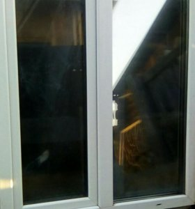 Пластиковое створчатое окно