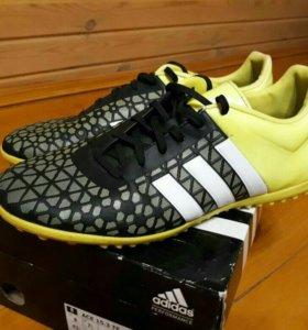 Бутсы (сороконожки) футбольные adidas ace 15.3