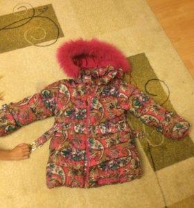 Зимняя куртка для принцессы!