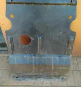 Защита двигателя стальная. Passat b4