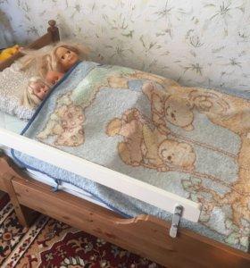Детская раздвижная кровать Икеа Лексквик