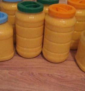 Мед натуральный, 100% чистый цветочный мед