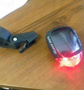 Задний велосипедный фонарик