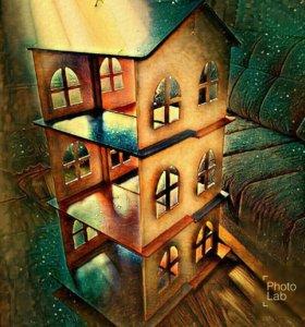 Кукольный домик (для барби)