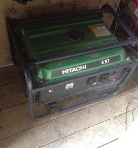 Бензиновый генератор Hitachi E 57