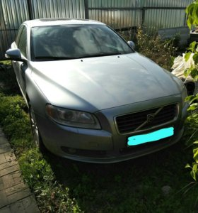 Volvo s80; 2007г.; 2.5 АТ (200л.с).