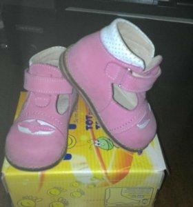 Туфли для девочки ортопедические Тотто