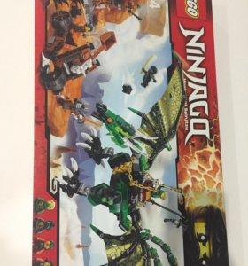 Lego Ninjago Зелёный дракон 🐉 новый оригинал.