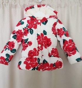 Куртка новая демисезонная 1.5-2 г