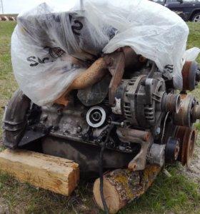 Двигатель сотка инжектор