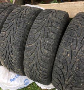 Комплект зимних колёс на Chevrolet Cruze, opel.