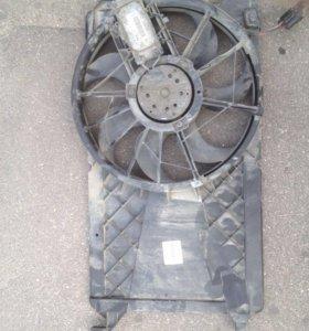 Вентилятор охлаждения на Ford Focus 2