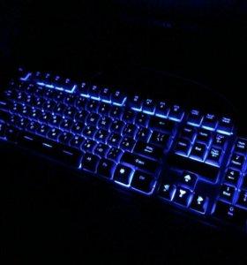 Отлична Клавиатура с подсветкой
