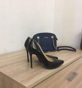 Туфли Paolo Conte ( натуральнаякожа, лак)