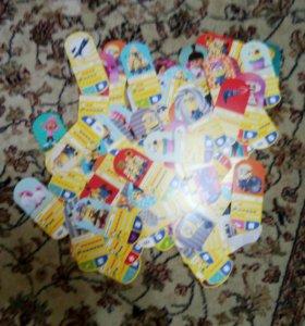 Карточки гадкий я 3(номера уточняйте)