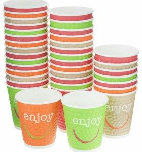Набор одноразовых стаканов Huhtamaki  enjoy