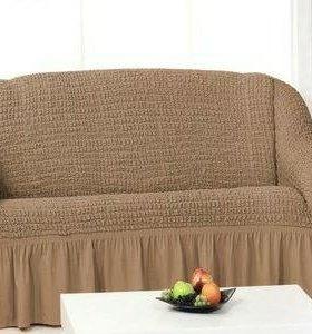 Чехлы для мебели( диван + кресло)набор
