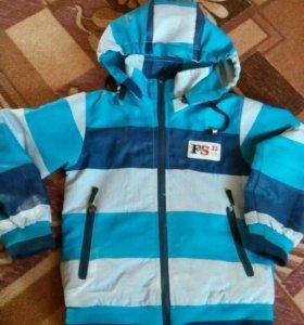 Куртка на флисе р104-110