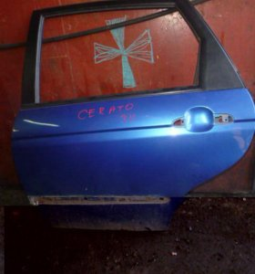 Дверь задняя левая для Kia Cerato 2004-2008