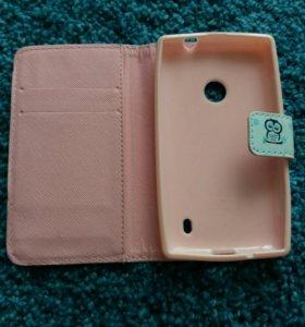 Чехол для телефона, на Nokia 520