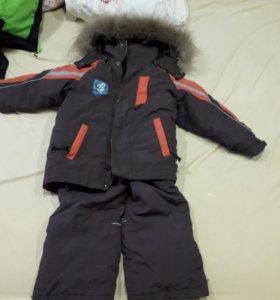 Зимний костюм на мальчика охара