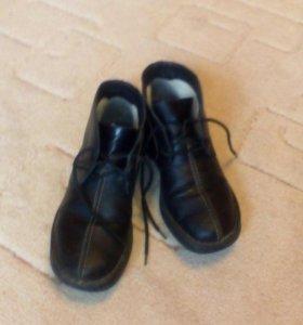 Ботинки, 100 рублей скидка, шерсть кожа