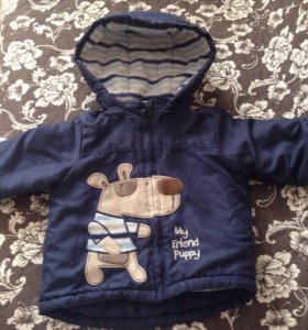 Зимняя куртка для мальчика 80р-р