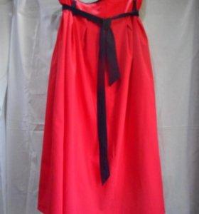 Красная юбочка 52 р