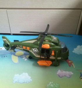 Военный Вертолёт Dickie свет, звук. 41см