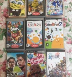 Диски игровые (лицензия❗️) для PSP