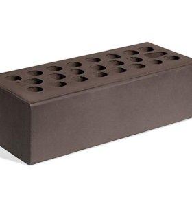 керамический кирпич цвета Шоколад гладкий
