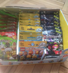 Lego 71008 71009 71010 минифигурки