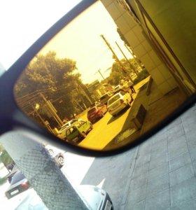 Очки водительские, эффект просветления
