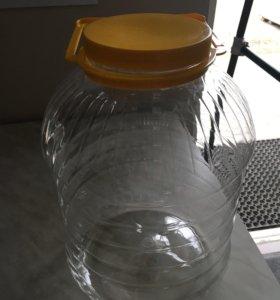 Банка пластиковая 10 л