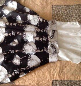 Платье нарядное для девочки 11-13 лет.