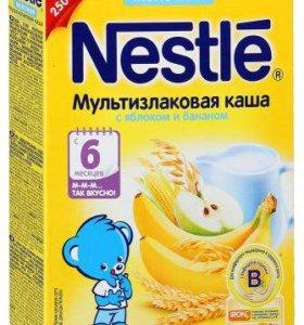 Продам молочную кашу Nestle