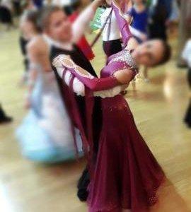 Платье для латиноамериканких танцев