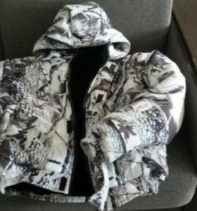куртка теплая (зимний камуфляж)