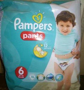 Трусики-подгузники Pampers Pants 6 (16+)