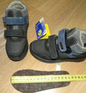 НОВЫЕ ботинки демисезон 27=17см