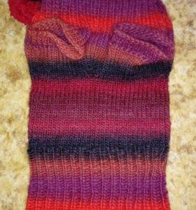 Вязаный свитер для маленькой собаки
