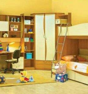 Стенка в детскую комнату. Название Пингвин2.